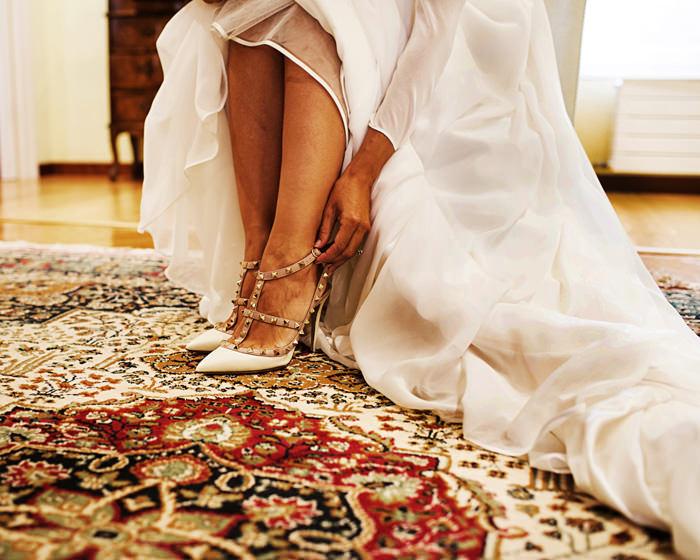 Valentino, zapatos de novia